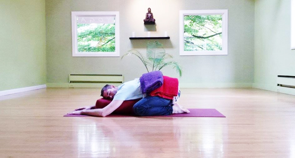 Restorative Yoga at Live Love Flow Yoga Studio, Madison Valley