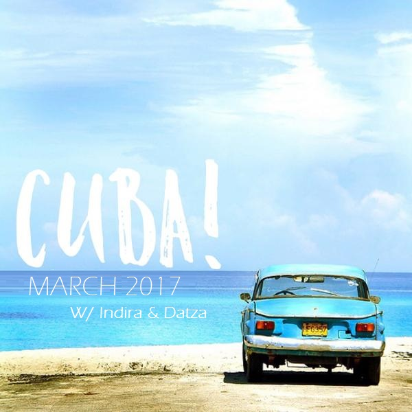 CUBA + yoga retreat!